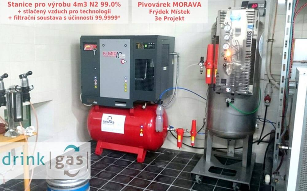 Stanice pro výrobu dusíku NITROS