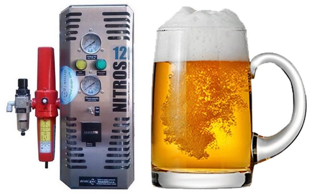 Generátor dusíku NITROS 1120 ideální pro výčep piva