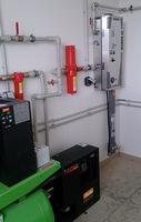Zapojení generátoru dusíku