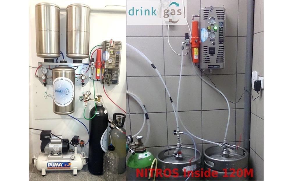 Generátor dusíku NITROS 1120 ideální pro výčep piva a vína